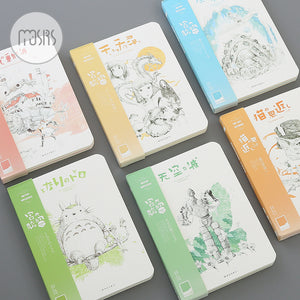 Inspirational Ghibli Sketch Notebooks