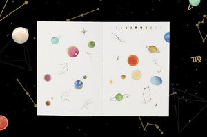 Space Planet Stickers example notebook