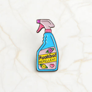 Bullshit Remover and Repellent Pin F-boi Repellent