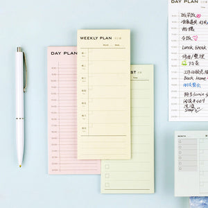 Daily Efficient Schedule Memopad