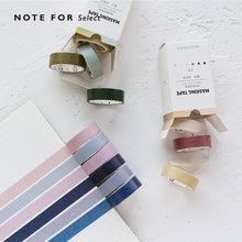 Popular Pure Color Paper Washi Tape
