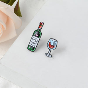 rose red wine relax wine glass