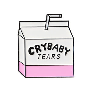 crybaby tears pin