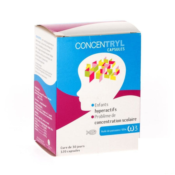 Concentryl Capsules 120X210Mg