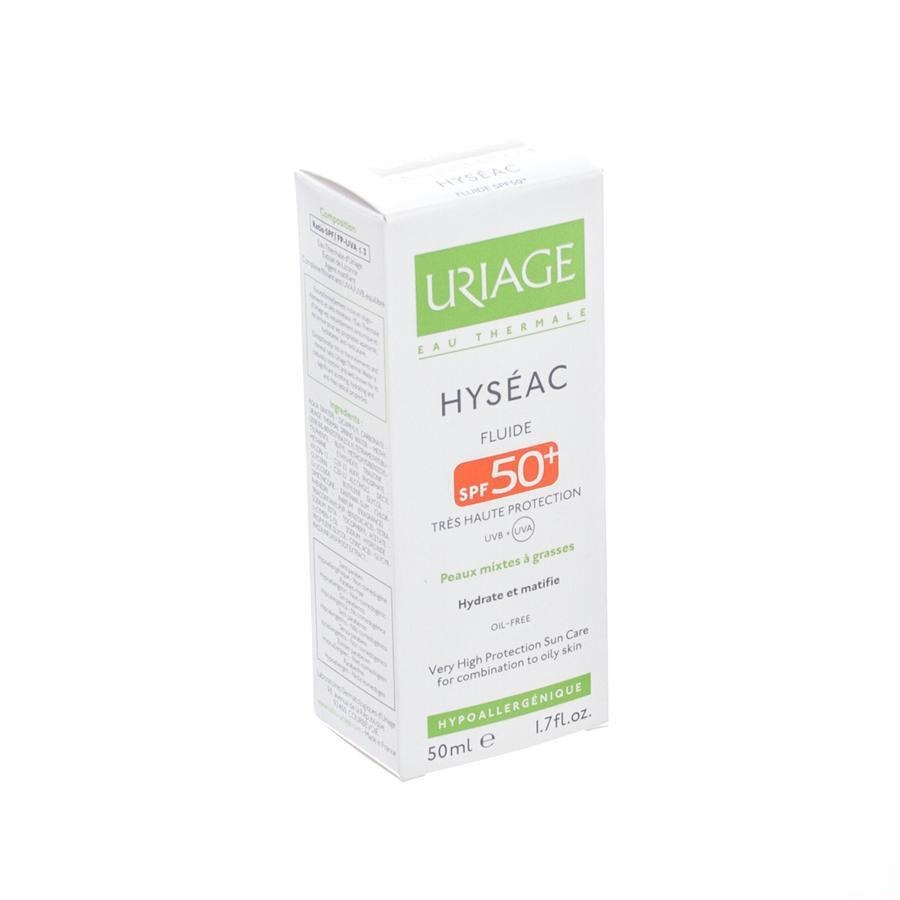 Uriage Hyseac Fluide Sol Ip50 P Mixte-pg Tube 50ml