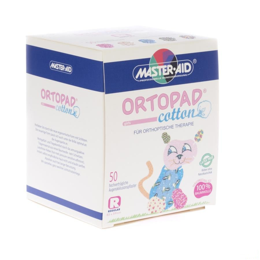 Ortopad Cotton Regular Girls Pans Ocul. 50 70164