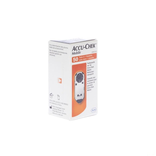 Accu Chek Mobile Test Cassette 50 Tests 5953740171