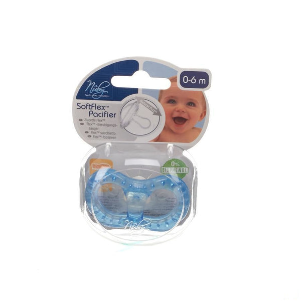 Nuby Nt Sucette Flex Silicone Ovale 0-6M 1 67538