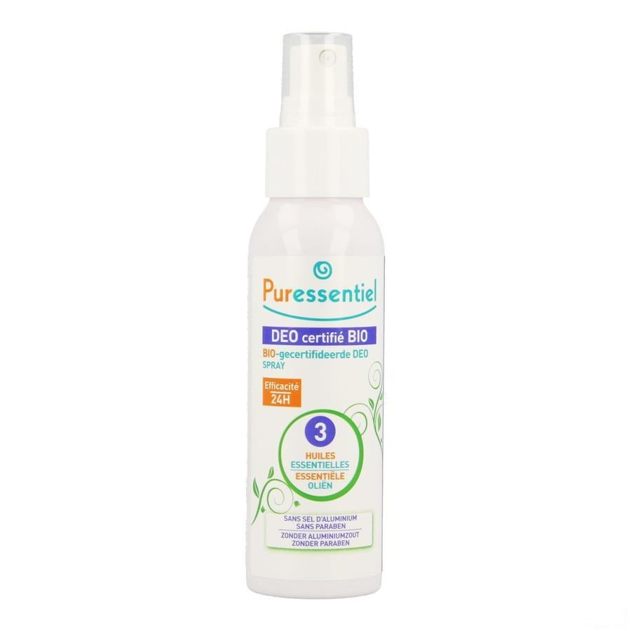 Puressentiel Bio Deo 3 Huiles Ess. Spray 50ml