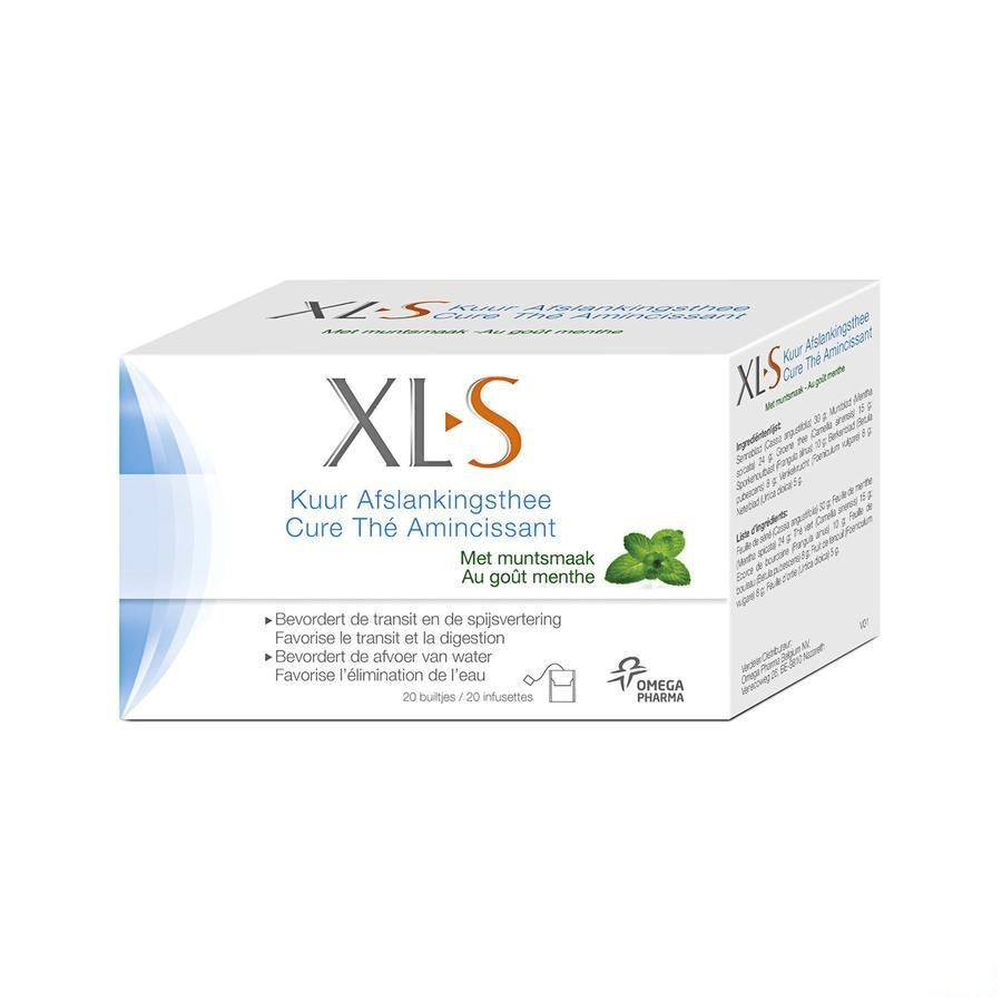 Xls The Amincissant Menthe Sach 20x2g