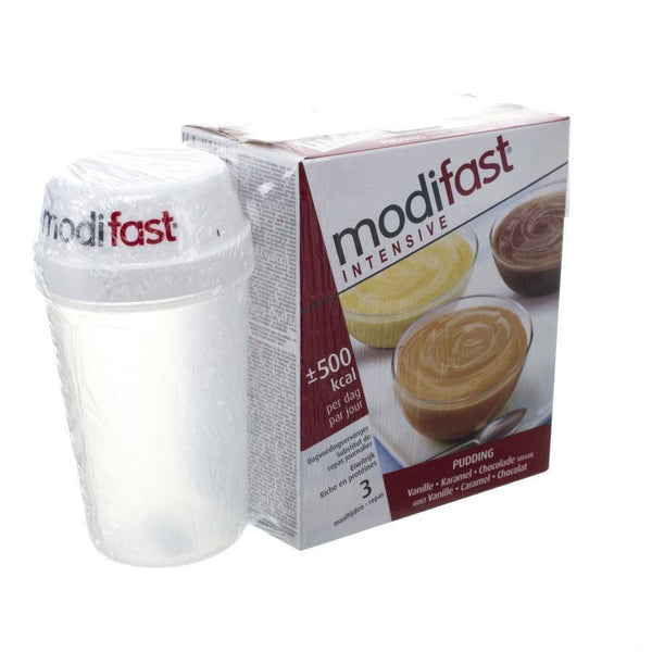 Modifast Intensive Pack Mix(Pudding+Shakes+Shaker)
