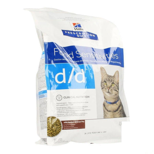 Hills Prescrip.diet Feline Dd Vension 1 5Kg 8686M