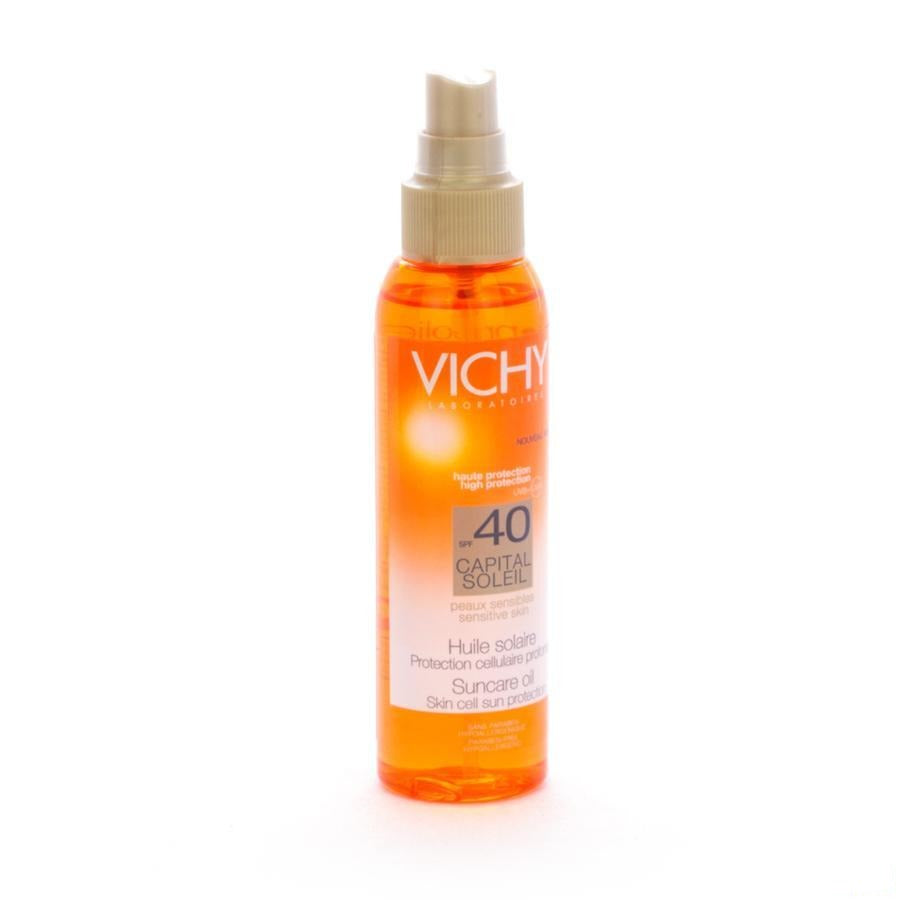Vichy Capital Soleil Ip40 Huile Solaire 125 Ml