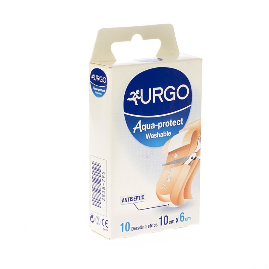 Urgo Aqua Protect Lavable Bande 100x60mm 10