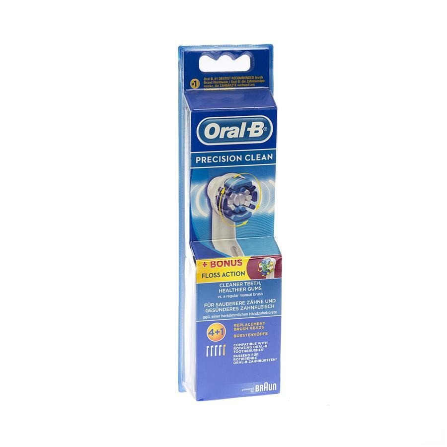 Oral B Refill Eb20-4 Eb25-1 Brush Set 5