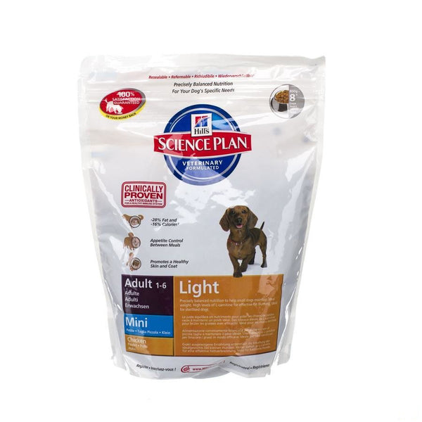 Hills Sc.plan Canine Adult Light Mini 800G 1697Ea