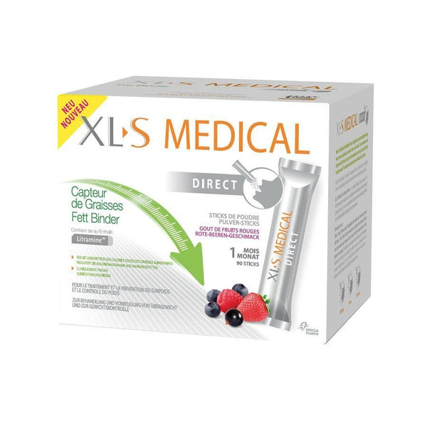 Xls Medical Capt.de Graisses Stick 90