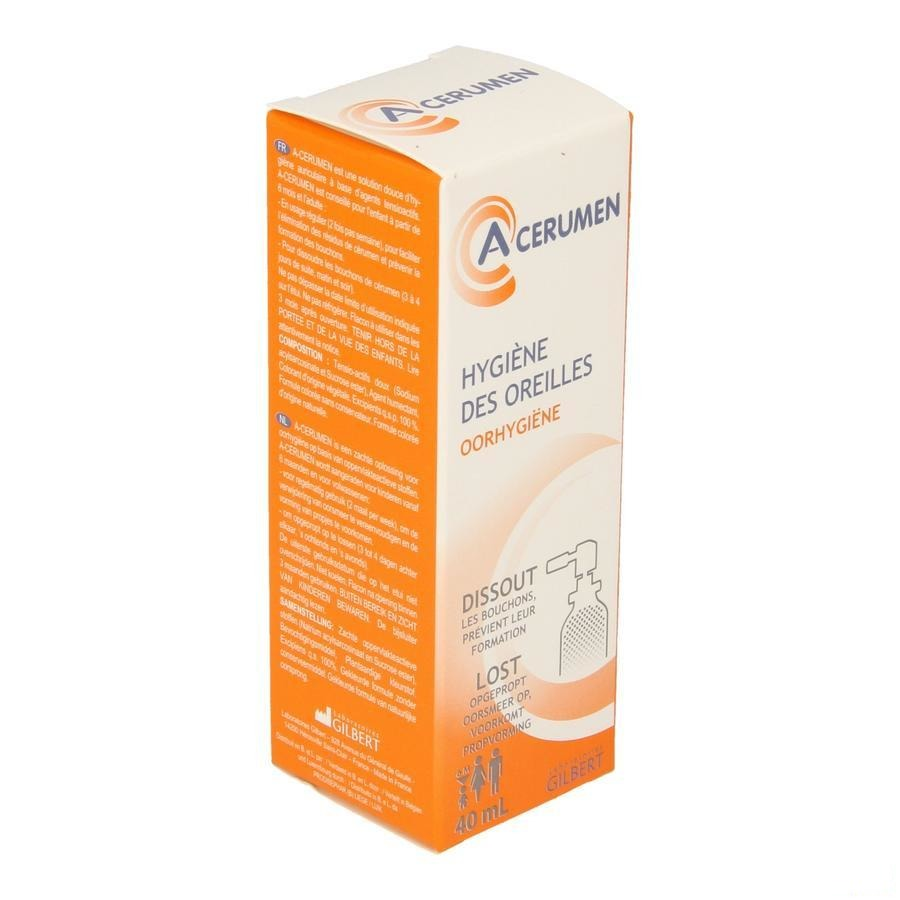 A-cerumen Gilbert Spray Auriculaire Colore 40ml