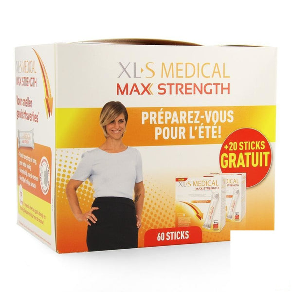Xls Med. Maximum Strength Sticks 60 + 20