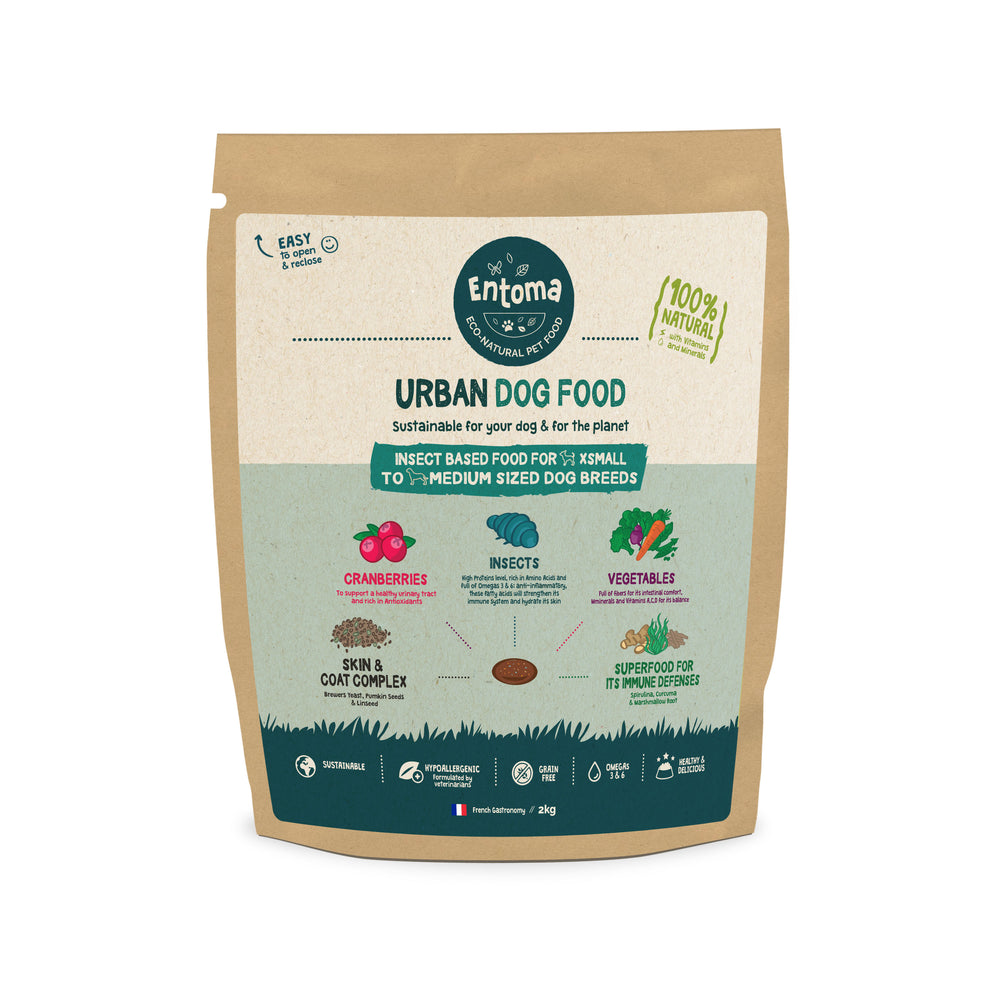 Natural & Sustainable food for urban dogs