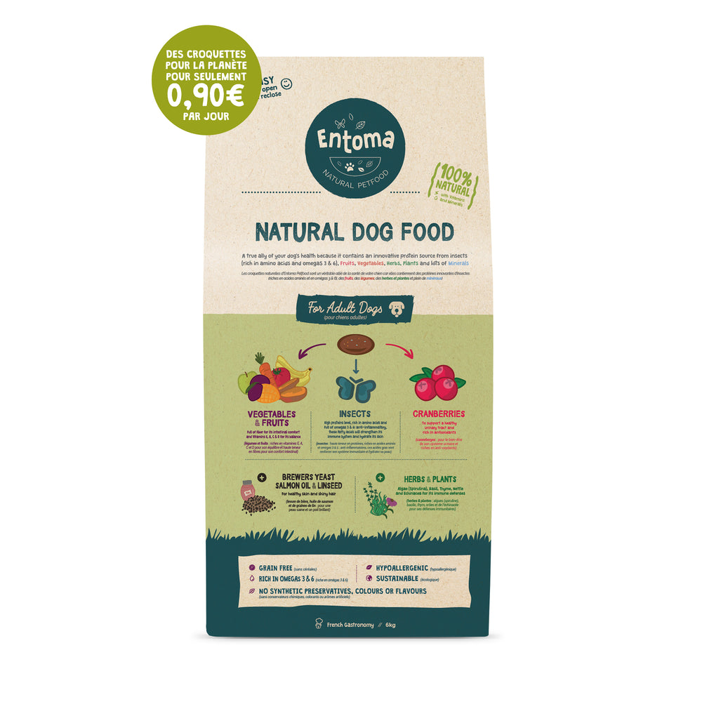 Natural & Sustainable dog food