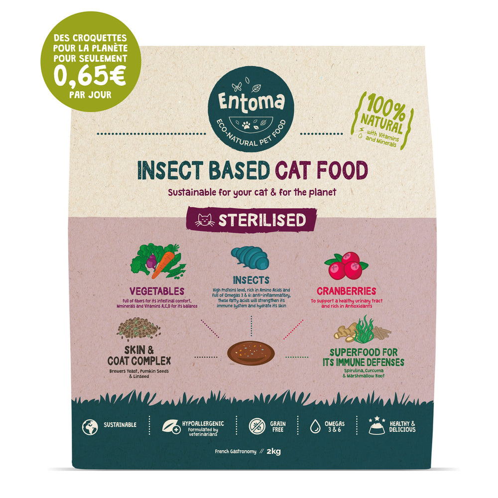 Natural & Sustainable cat food
