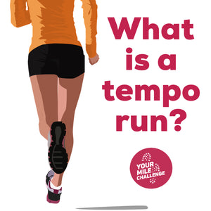 What is a tempo run?