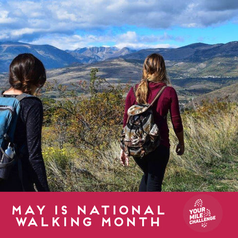 May is National Walking Month