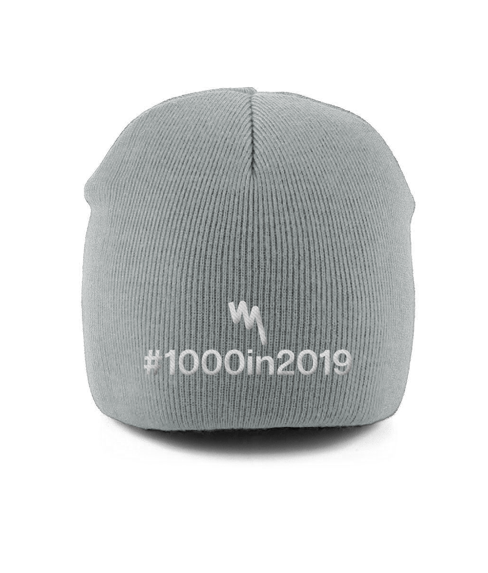 Your Mile 1000in2019 Pull-on Beanie