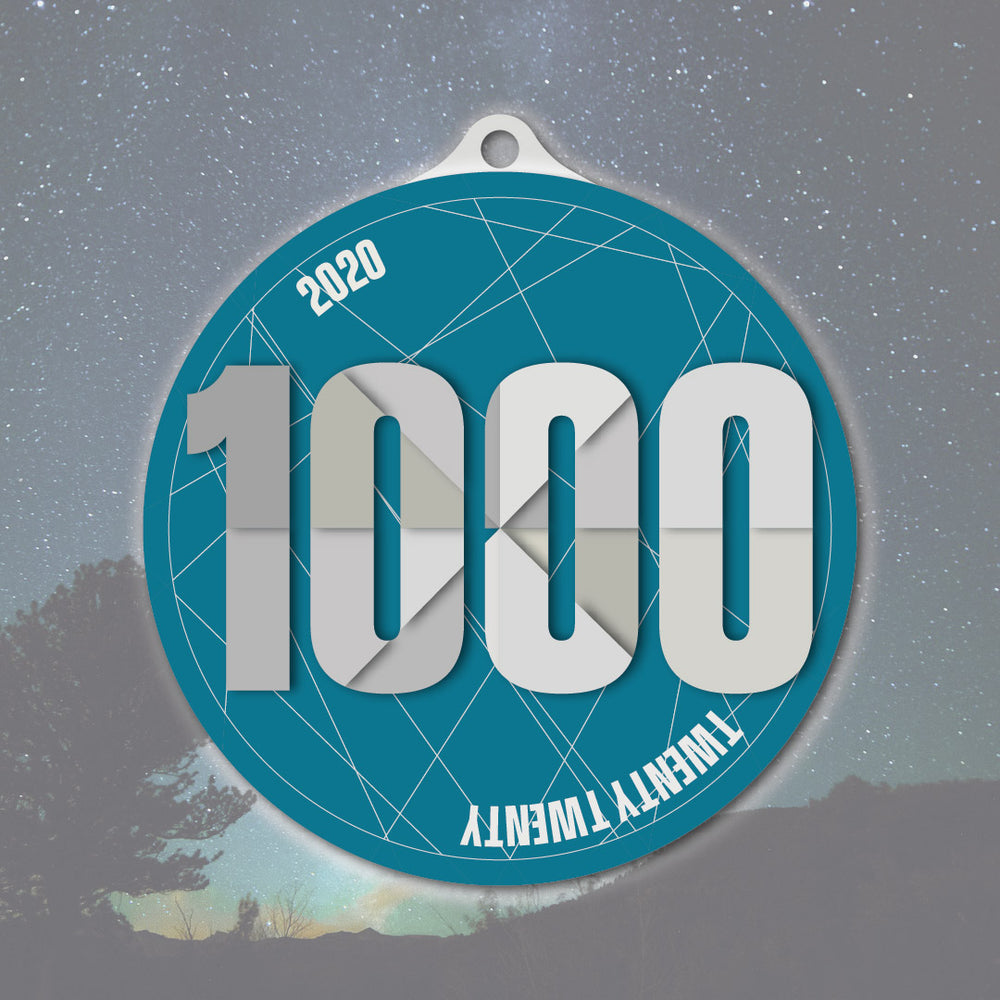 1000 Miles or 1000 km in 2020 Challenge