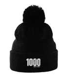 1000 miles or km challenge 2020 hat in black from your mile challenge