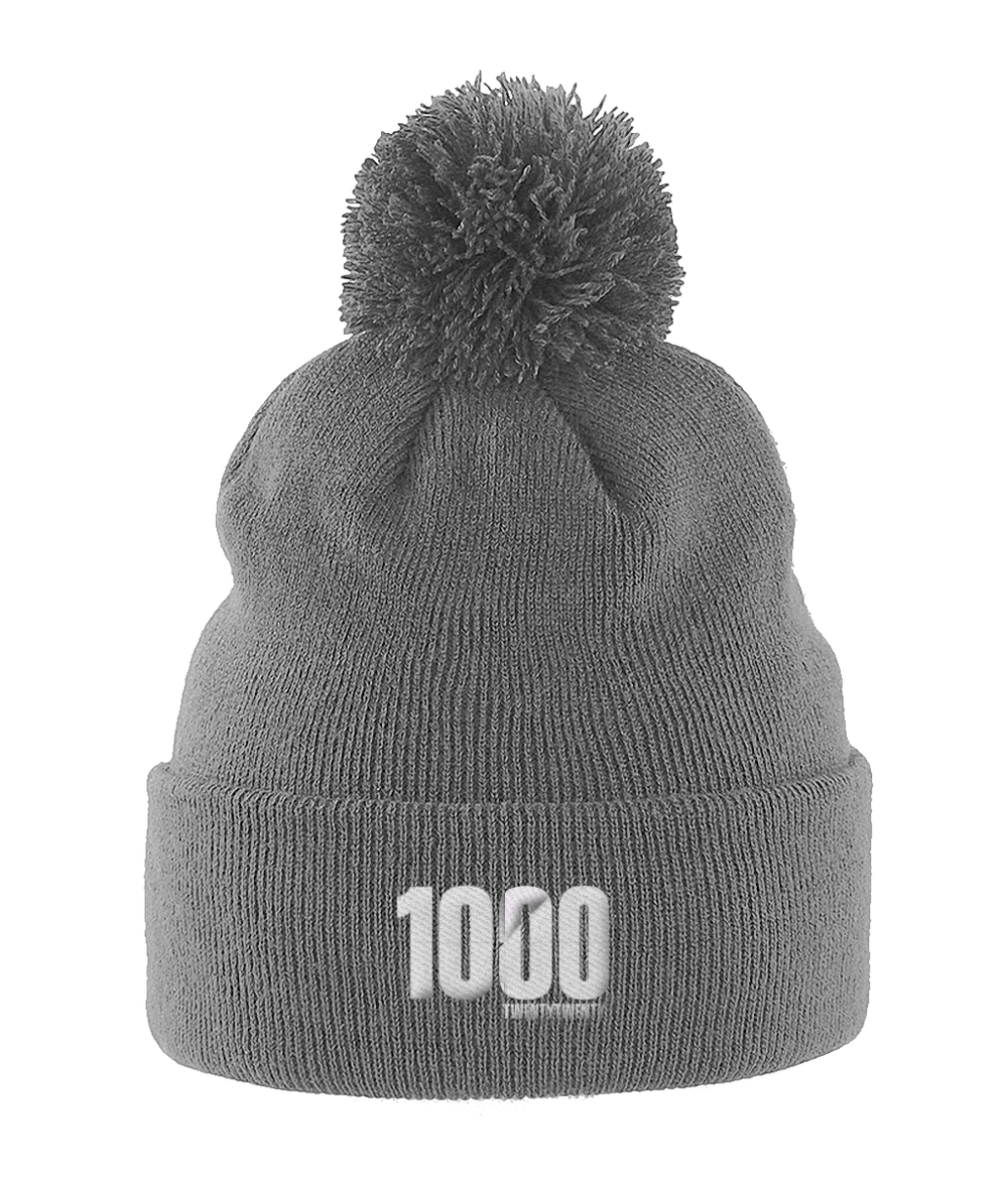 1000 miles or km challenge 2020 hat in grey from your mile challenge