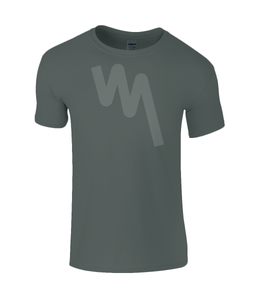 Your Mile Large Pulse Tee - Dark Heather