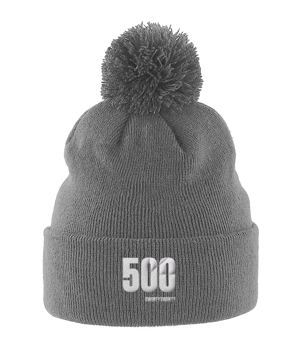500 in 2020 Challenge hat in grey from Your Mile Challenge