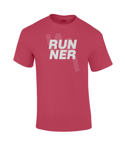 Mens RUNNER T-Shirt - Red