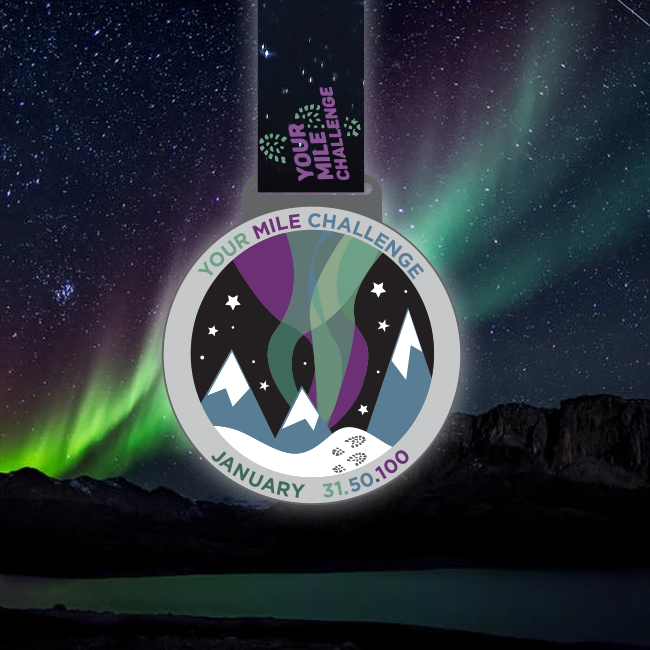 Northern Lights Challenge Medal