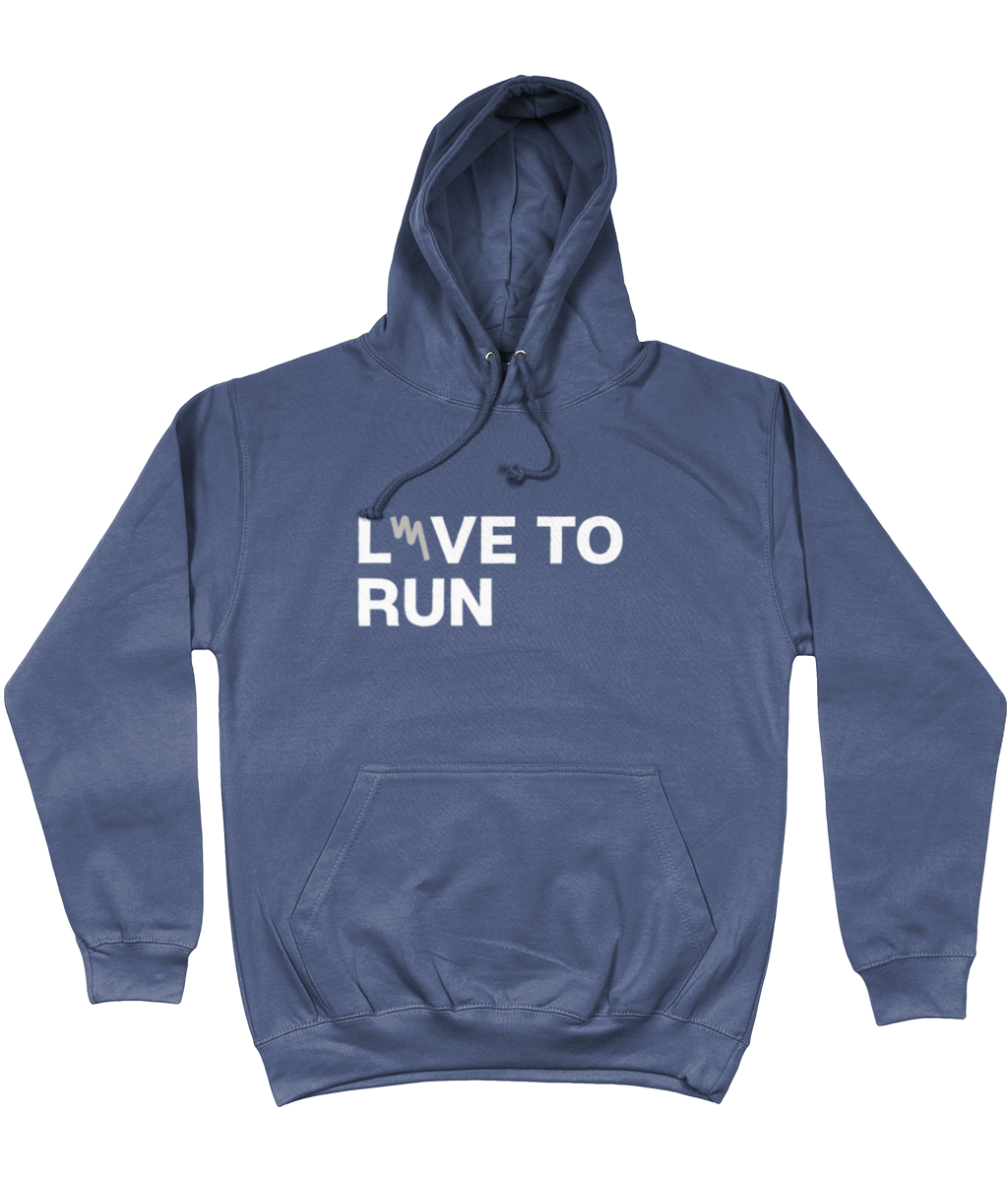 Your Mile Love to Run Live to Run Unisex Hoodie