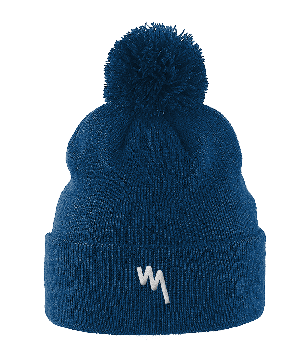 Your Mile Challenge Pulse Pom Pom Beanie