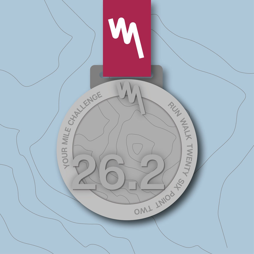 Your Mile Marathon Distance Challenge