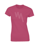 Ladies Fitted Your Mile Pulse T-Shirt - Red