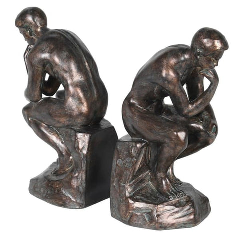 Pair of  'Thinker' Bookends