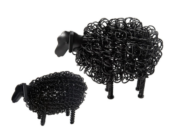 Large Black Wiggly Sheep