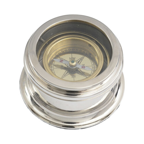 Brass & Nickel Compass