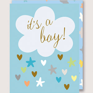 It's A Boy! | Greetings Card