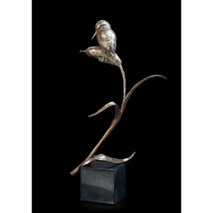 Kingfisher on Marble Plinth Limited Edition Solid Bronze Red Lobster Gallery