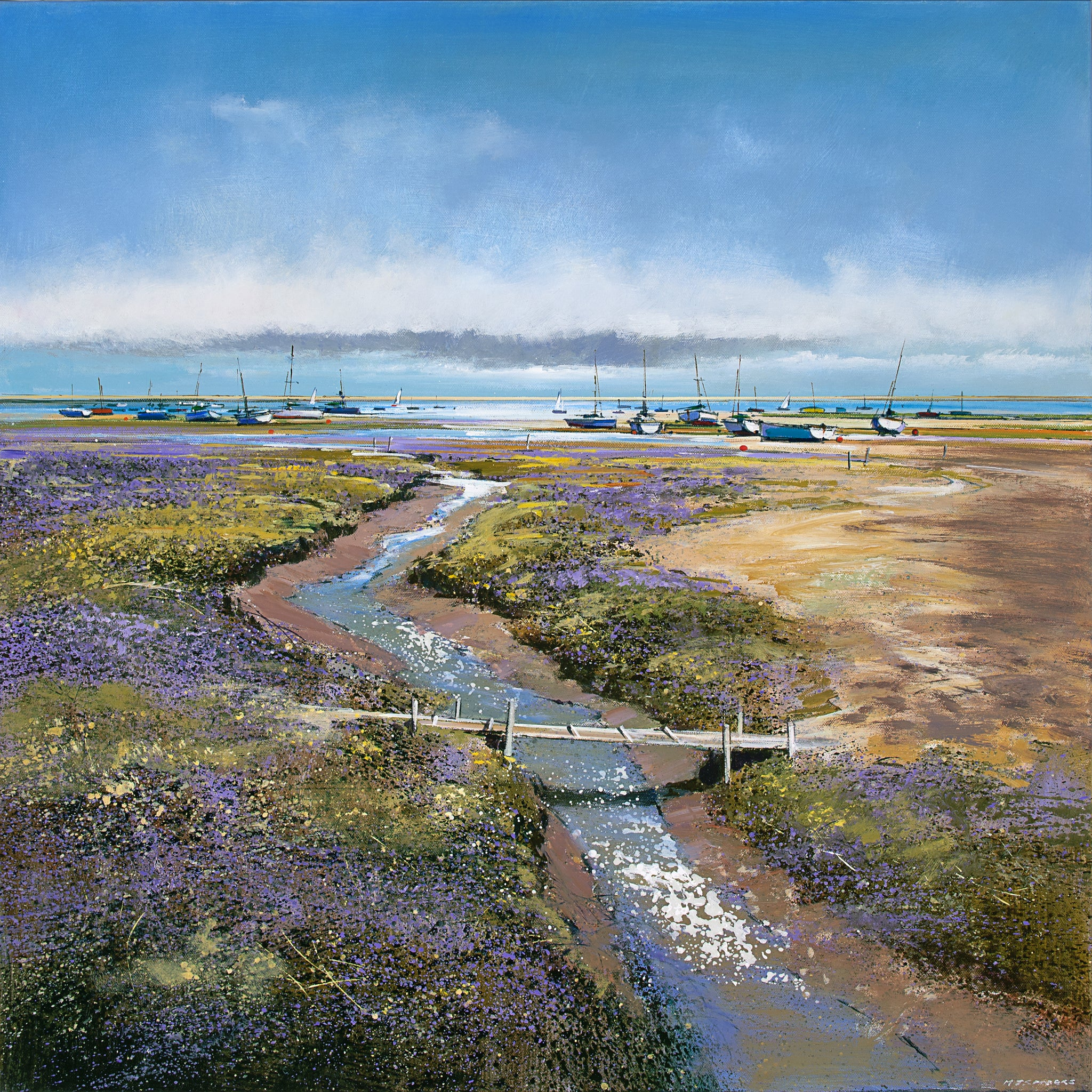 Low Tide, Morston Limited Edition Unframed Print