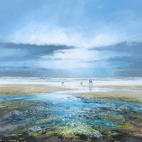Michael Sanders | Low Tide, Sheringham | Limited Edition  Print | Free Shipping
