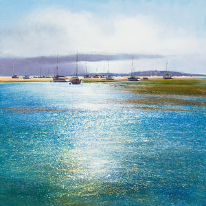 Michael Sanders | Boats at Blakeney | Limited Edition Print | Free Shipping
