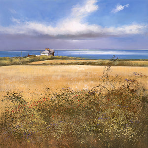 Michael Sanders | Coastguard Cottages, Weybourne | Limited Edition Print | Free Shipping