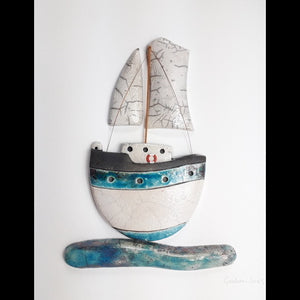 Ocean Yacht Framed - CLICK AND COLLECT ONLY